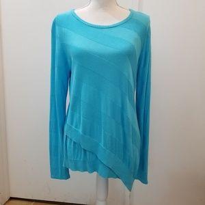 Dana Buchanan Asymetrical Sweater NWT